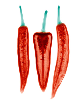 X-ray of Three Chillis