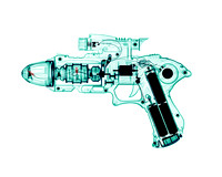 X-ray of a Toy Ray Gun 01
