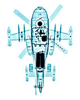 X-ray of a Toy Helicopter