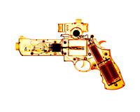 X-ray of a Toy Ray Gun 02